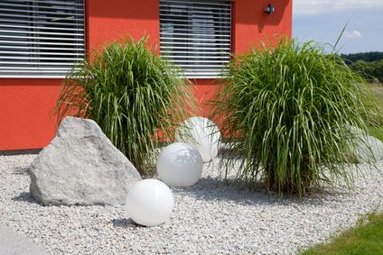Steing rten for Gartenbepflanzung modern